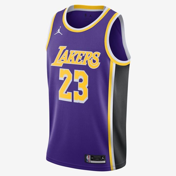 LeBron James Lakers Statement Edition 2020 NBA Swingman Jersey