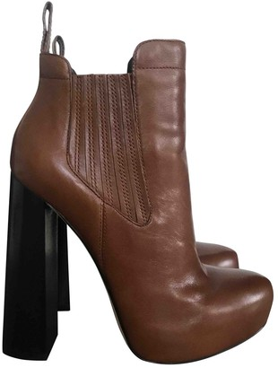 Alexander Wang Brown Leather Ankle boots