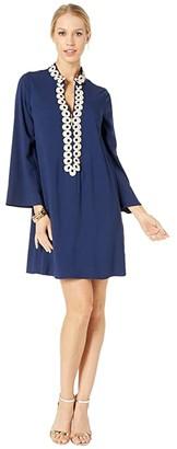 Lilly Pulitzer Gracelynn Stretch Dress (True Navy) Women's Dress