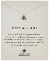 Dogeared Fearless Royal Lion Necklace