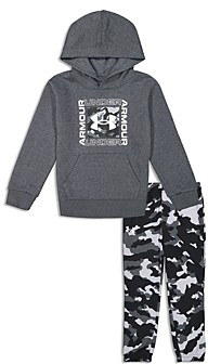 Under Armour Boys' Fury Logo Hoodie & Camo Sweatpants Set - Little Kid
