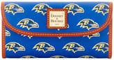 Dooney & Bourke Baltimore Ravens Large Continental Clutch