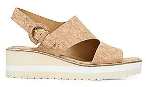 Vince Women's Shelby Cork Slingback Sandals