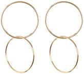 Natasha Accessories Interlocked Hoop Earrings