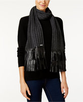 MICHAEL Michael Kors Leather Fringe Muffler
