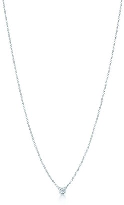 Tiffany & Co. Elsa Peretti Diamonds by the Yard pendant in sterling silver