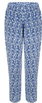 Joie Gage Daydream Blue Printed Silk Trousers