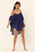 Mara Hoffman Off The Shoulder Tank Coverup