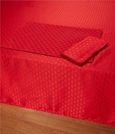 Lenox Olivia Red Collection Table Linens