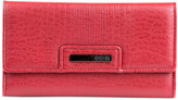 Kenneth Cole Reaction Never Let Go Trifold Flap Clutch Wallet