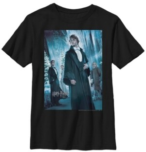 Fifth Sun Harry Potter The Goblet of Fire The Yule Ball Little and Big Boy Short Sleeve T-Shirt