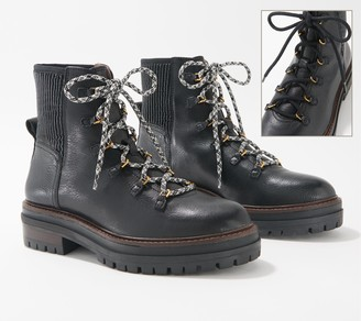 Louise et Cie Lace-Up Lug Boots - Sheena