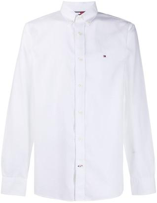 Tommy Hilfiger Logo-Embroidered Shirt