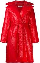 Givenchy padded belted coat
