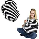 JLIKA Baby Car Seat Canopy Covers - Infant Carseat Nursing Cover for Babies, Girls and Boys