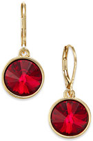 Charter Club Bezel-Set Crystal Earrings, Only at Macy's