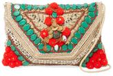 Antik Batik Cuzco Embroidered Cotton Convertible Clutch
