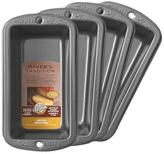 Wilton Baker's Tradition 4 Piece Mini Loaf Pan Set