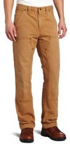 Carhartt Men's Weathered Duck Double Front Dungaree Relaxed Fit