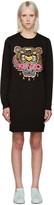 Kenzo Black Tiger Pullover Dress