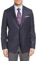 Men's John W. Nordstrom Classic Fit Plaid Wool Sport Coat