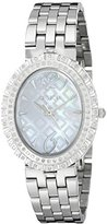 Croton Women's CN207507SSMP Ballroom Analog Display Quartz Silver Watch