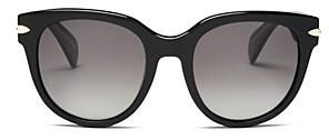 Rag & Bone Women's Polarized Round Sunglasses, 54mm