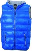 James & Nicholson Men's Jacket - Blue -