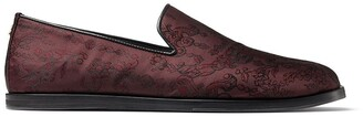 Jimmy Choo Law embroidered slippers