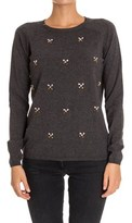 Sun 68 Women's Grey Cotton Sweater.