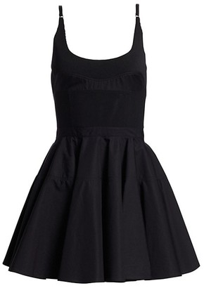 Alexander Wang Poplin Fit & Flare Dress