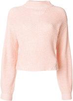 CK Calvin Klein ribbed knit jumper