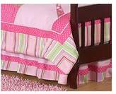 JoJo Designs Sweet Jungle Friends Toddler Bed Skirt