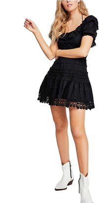 Free People Cruel Intentions Mini (Black) Women's Clothing