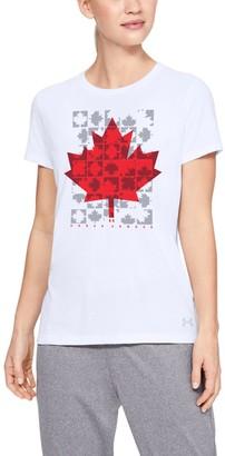 Under Armour Women's UA Canada Maple Leaf T-Shirt