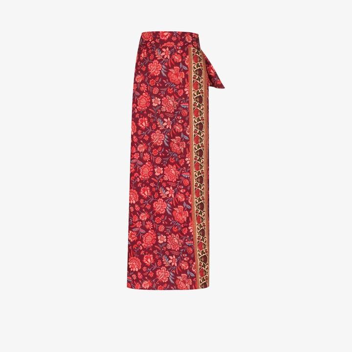 BOTEH Petra Floral Wrap Skirt