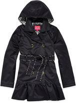 Pink Platinum Trench Coat - Toddler Girls 2t-4t