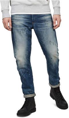 G Star Men 3D Straight Tapered Jeans