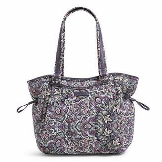 Vera Bradley Women's Signature Cotton Glenna Satchel Purse Handbag
