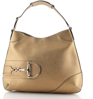 Gucci Hasler Hobo Leather Large