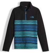 The North Face Boy's 'Glacier' Quarter Zip Fleece Pullover