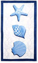 Shell Trio Beach Towel