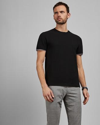 Ted Baker BUKLEUP Textured T-shirt
