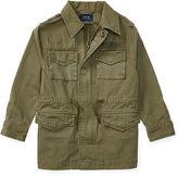 Ralph Lauren 2-7 Cotton Canvas Utility Jacket