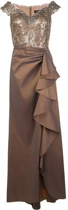 Tadashi Shoji Mah off-shoulder dress