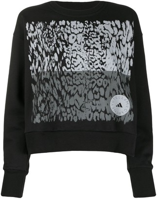 adidas by Stella McCartney Leopard Print Sweatshirt