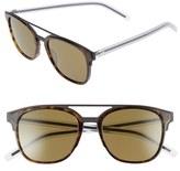 Christian Dior Men's 'Black Tie' 53Mm Sunglasses - Matte Black Crystal