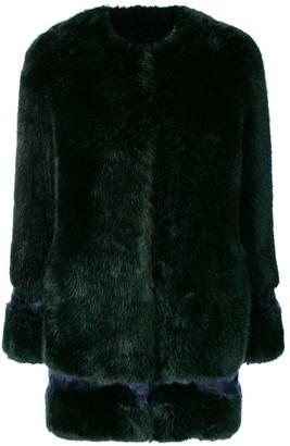 La Seine & Moi Petra faux fur coat