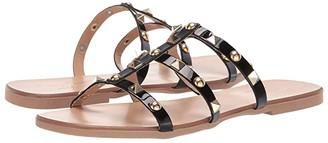Massimo Matteo Sandal with Studs (Black) Women's Sandals