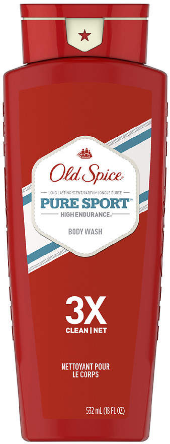 Old Spice High Endurance Body Wash Pure Sport